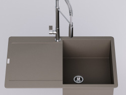Franke Maris MRG 211-77 Sink with faucet Franke fox pro