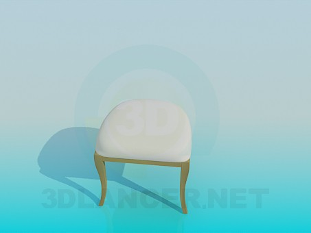 3d model Chairon two legs - preview