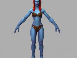 Woman-troll