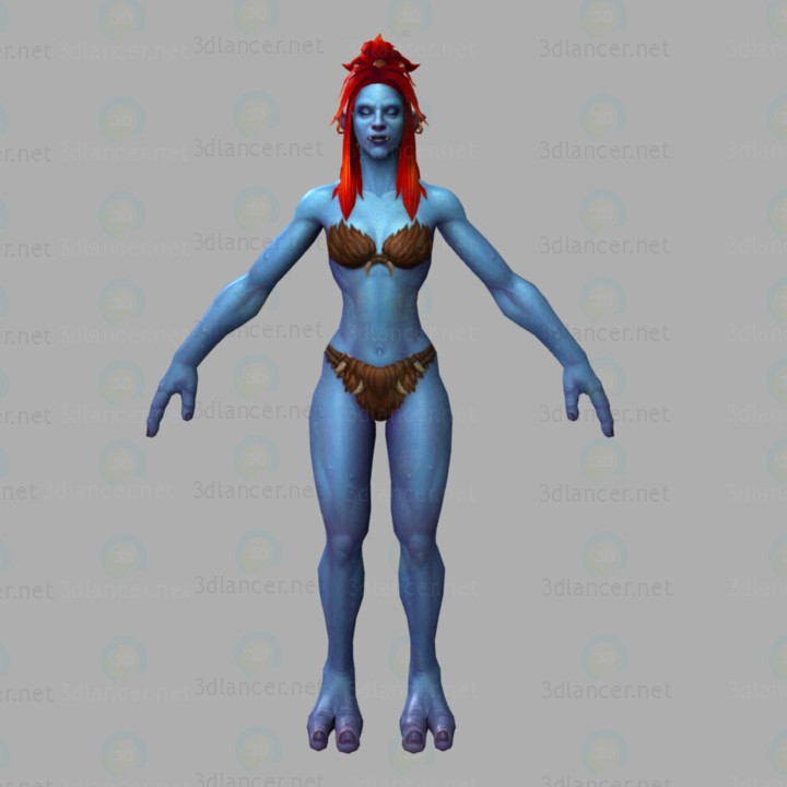 3d model Wow-troll - preview