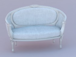 Sofa in classic European design