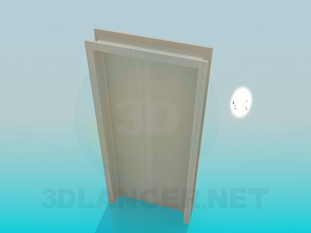 3d модель Дверь – превью