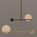 3d Ceiling Light model buy - render