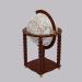 3d Globe for booze model buy - render