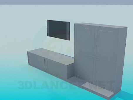 3d model Room furniture - preview