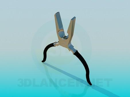 3d model Pliers - preview