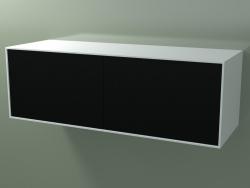 Caja doble (8AUFBВ03, Glacier White C01, HPL P06, L 144, P 50, H 48 cm)
