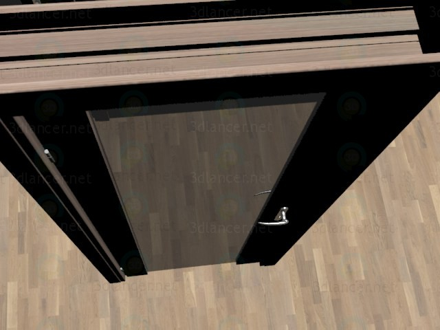 3d модель Двері – превью