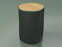 Beech section trunk (L, Glossy Black)