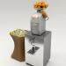 3d OranFresh HR SELF SERVICE SUPERMARKET Citrus Juicer model buy - render