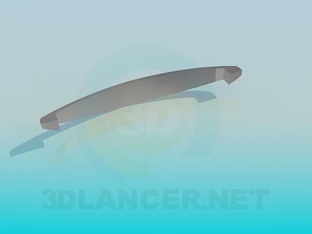 modelo 3D Perilla de gabinete - escuchar