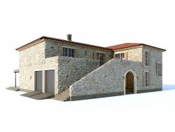 Villa de estilo mediterraneo
