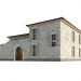 3d Mediterranean style villa model buy - render