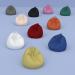 3d Set of ten armchairs in bags of different colors model buy - render