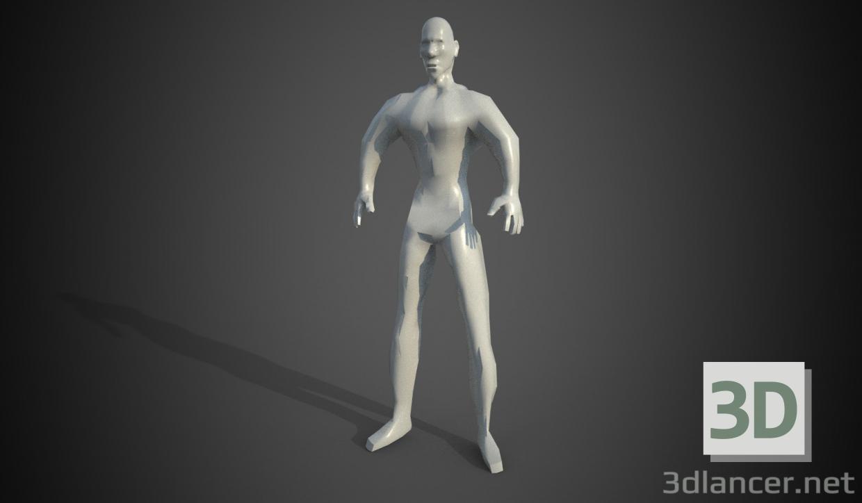 3d model body - preview