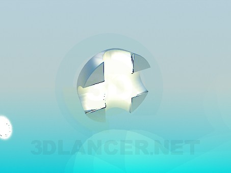 3d modeling Wall lamp model free download