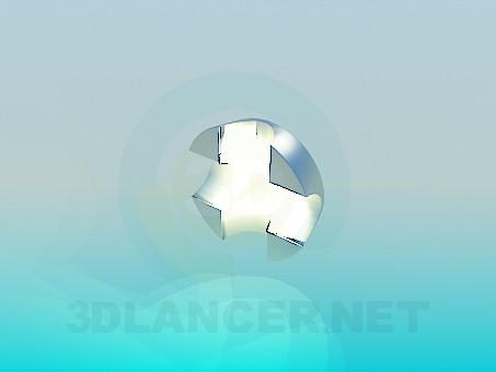 3d модель Настінний світильник – превью