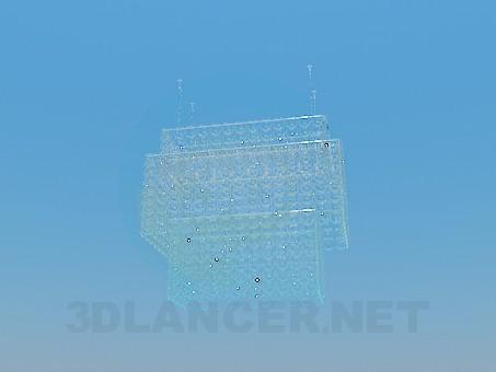3d моделирование Хрустальная люстра модель скачать бесплатно