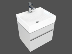 Washbasin with cabinet Quattro (89353)