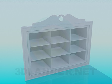 3d model Stand for shoes - preview