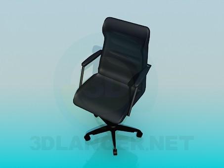 3d модель Стул для офиса – превью