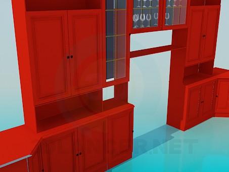 descarga gratuita de 3D modelado modelo Muebles para salón