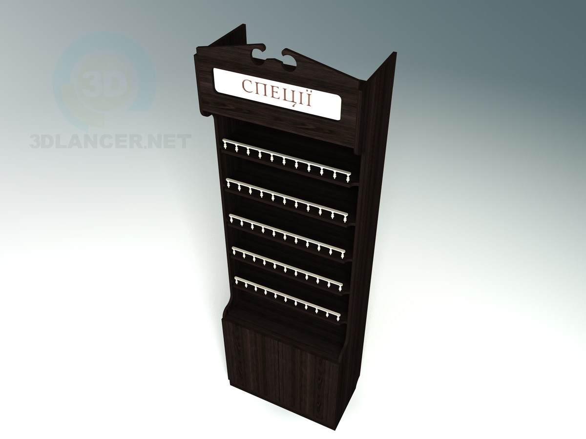 3d model Spice Rack - preview