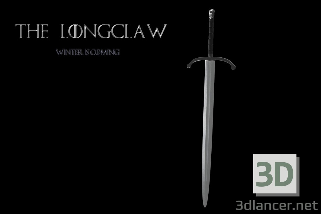 Long Claw (The Sharpe) paid 3d model by Vladislav Dudnyk preview