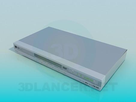 3d модель DVD LG – превью