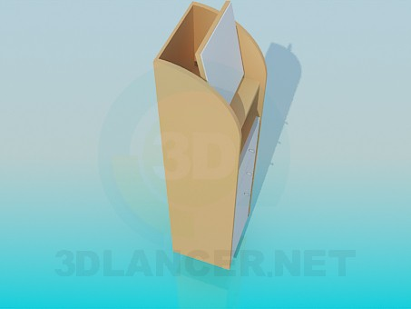 3d model Tumba-Tribune - preview
