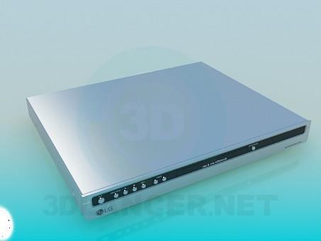 3d моделирование DVD LG модель скачать бесплатно