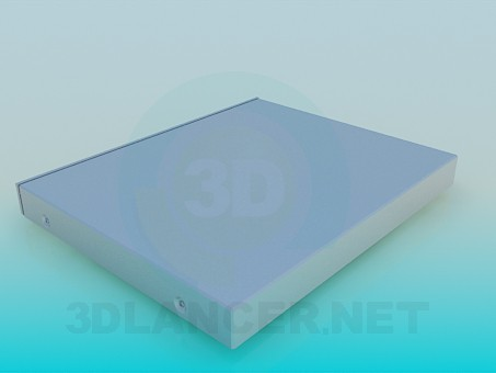 modelo 3D DVD LG - escuchar