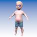поганий маленький хлопчик для мультфільму 3d модель купити - рендер