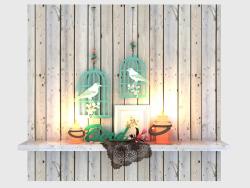 Decorative set Bird