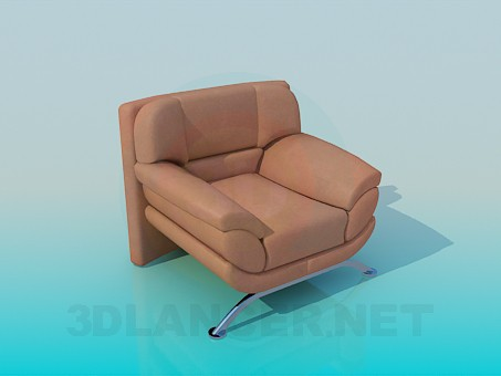3d modeling Armchair model free download