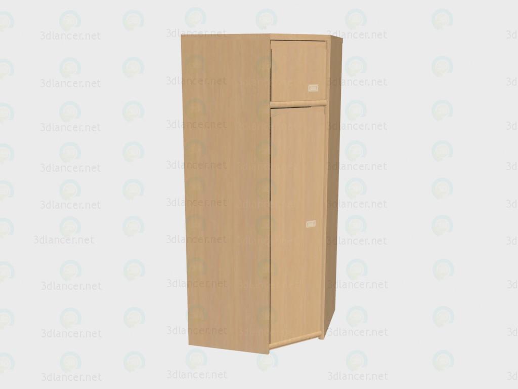 3d model Corner wardrobe VOX - preview