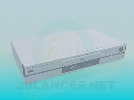3d модель DVD Panasonic – превью