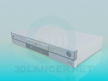 modelo 3D DVD Panasonic - escuchar