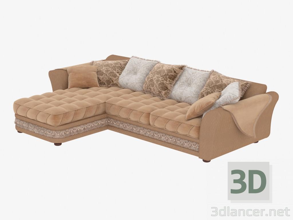 Modelo 3d sof de la esquina modular del fabricante estelio latif id 18866 - Sofas de esquina ...
