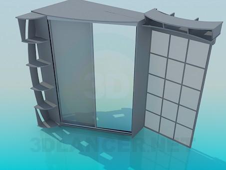 3d model Wardrobe - preview