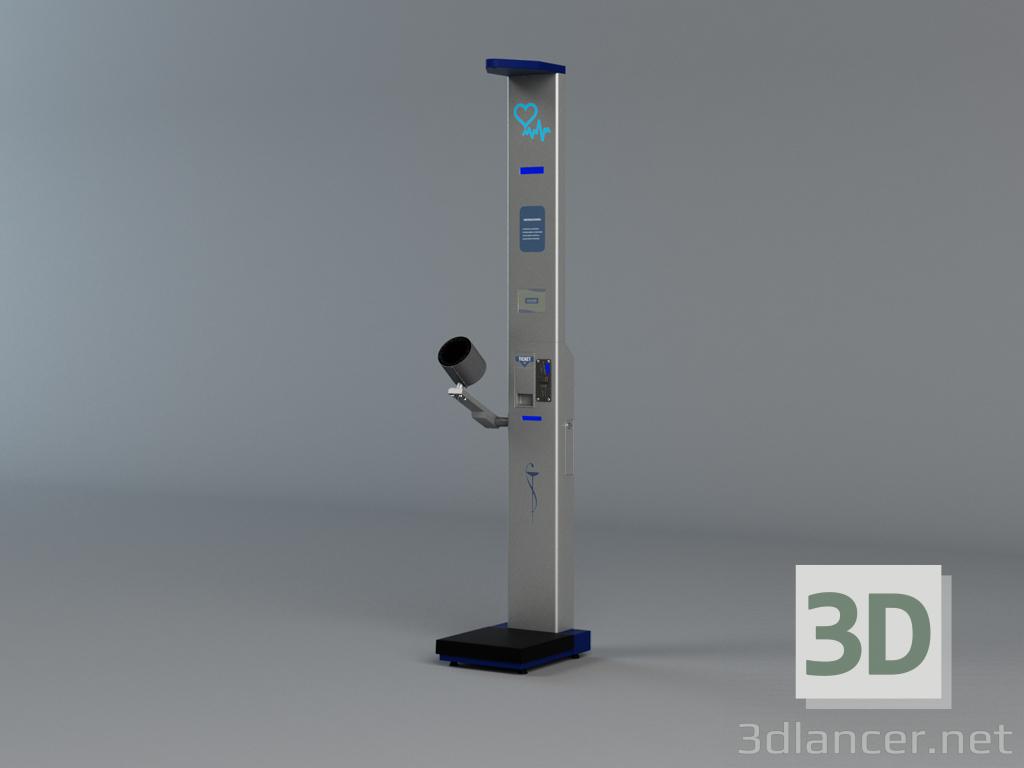 3 डी मॉडल फार्मेसी बहुक्रिया पैमाने। ब्रांड: EGARA - पूर्वावलोकन