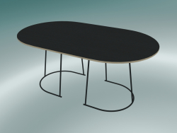 Table basse Airy (Medium, Noir)