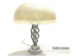 Tavolo Lampade
