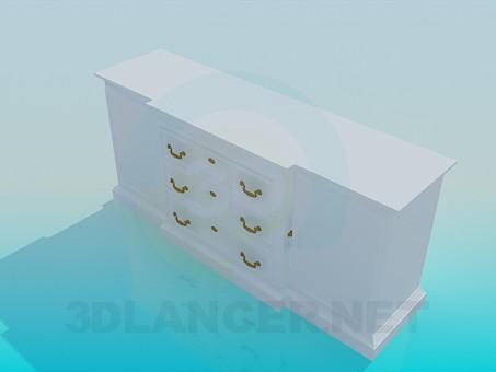 3d model Console - preview
