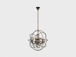 Ceiling IRON ORB CHANDELIER (CH014-5-LRR)