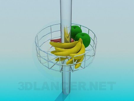 3d model Fruit Stand - preview