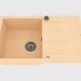 3D modeli Lavabo, kurutma için kanatlı 1 kase - kumlu Rapido (ZQK 7113) - önizleme