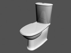Combination toilet bowl Outdoor l swing wc1