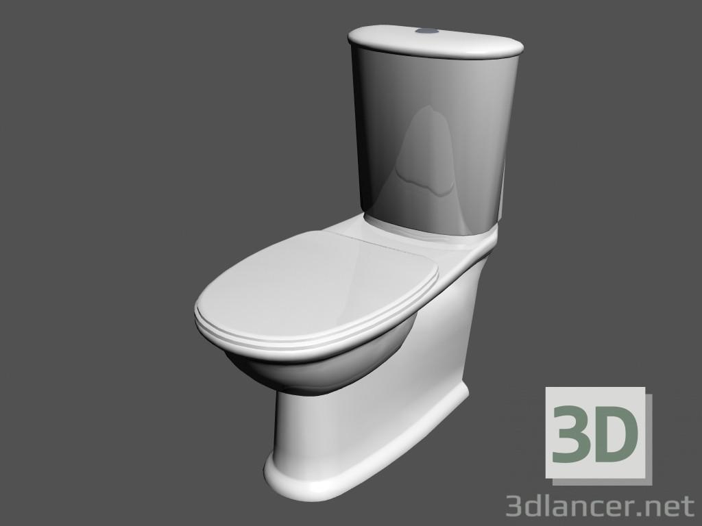 Modèle 3d Rez-de-toilette l balançoire WC1 combinaison du ...
