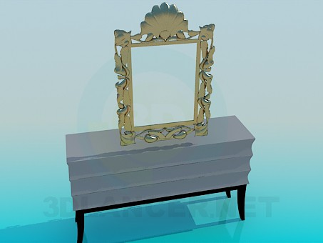 3d model Pier-glass - preview